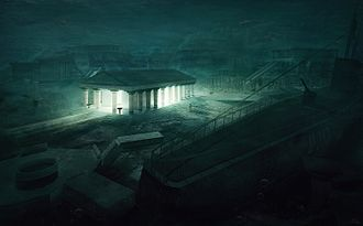 The Temple (Lovecraft short story) - The Temple, artwork by Mihail Bila