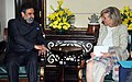 The Union Minister for Commerce & Industry, Shri Anand Sharma meeting the Princess Astrid of Belgium, in New Delhi on November 25, 2013.jpg