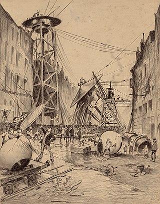 The War of the Worlds by Henrique Alvim Corrêa, orginal graphic 31