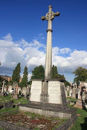 Kensal Green Cemetery - The grave of Baldomero de Bertodano, Kensal Green Cemetery