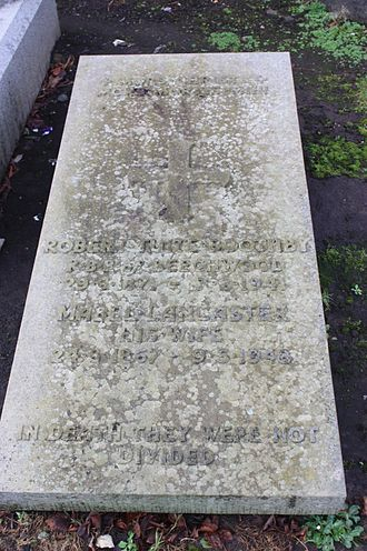 Robert Tuite Boothby - The grave of Robert Tuite Boothby, Corstorphine, Edinburgh