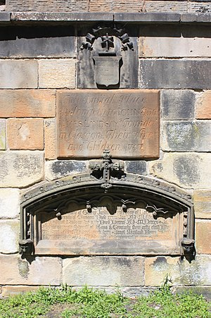 George Jardine - The grave of prof George Jardine, Glasgow Cathedral churchyard
