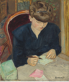 The letter - pierre bonnard.PNG
