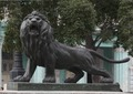 The lion statues on the Prado Promenade, Havana, Cuba LCCN2010638870.tif