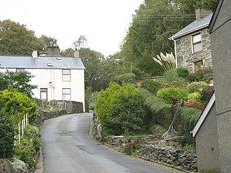 Prenteg - Image: The older part of Prenteg village geograph.org.uk 263843