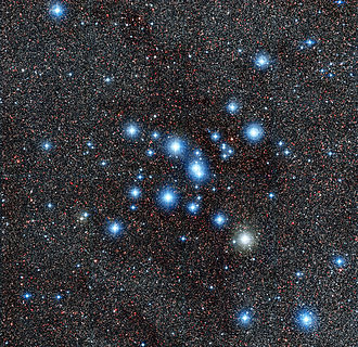 MPG/ESO telescope - Image: The star cluster Messier 7