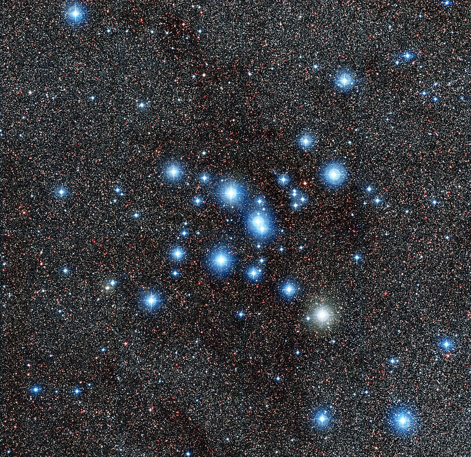 The star cluster Messier 7
