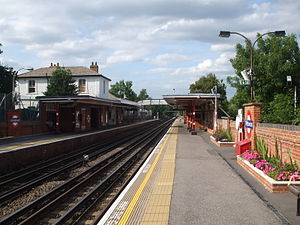 Theydon Bois tube station - Image: Theydon Bois stn north