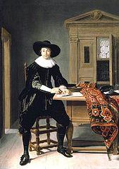 Portrait of a Cloth Merchant