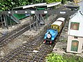 Thomas the Tank Engine on the Clematis Railway - geograph.org.uk - 1389567.jpg