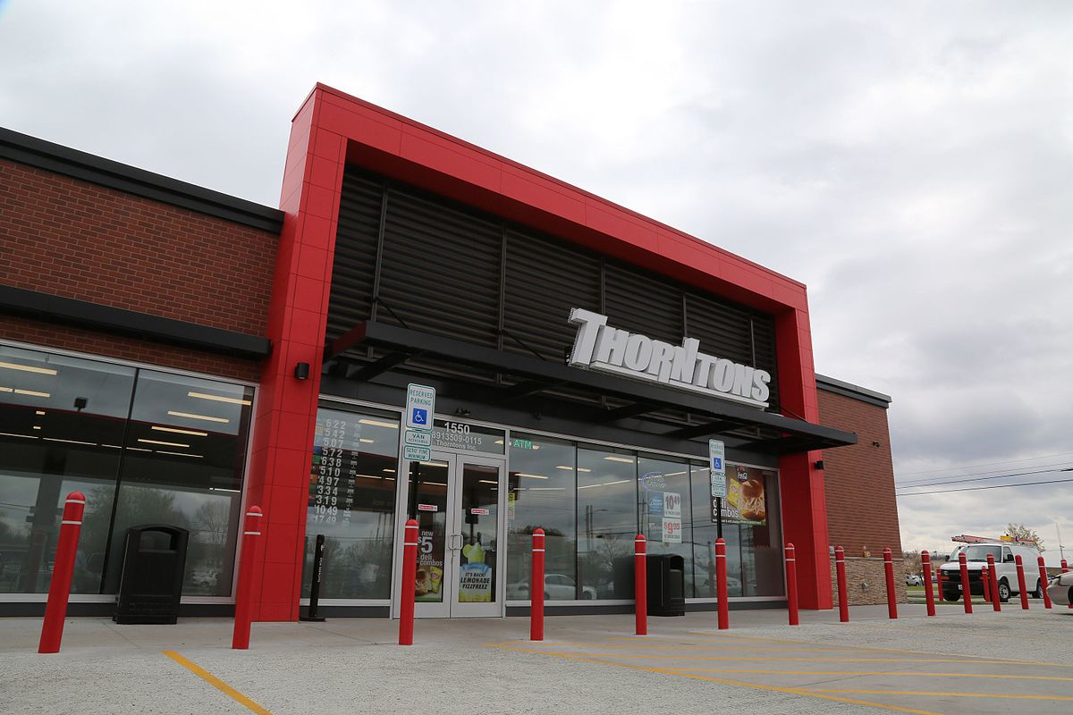 Find A Gas Station >> Thorntons LLC - Wikipedia