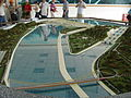 Three Gorges Dam, model of bridge at the reception center.jpg