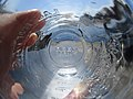 Through empty drinking glass.jpg