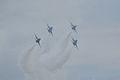 Thunderbirds Lockheed-Martin F-16C Fighting Falcons Diamond 3rd Pass 04 SNF 16April2010 (14629952232).jpg