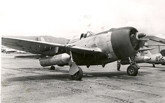 Colombian Air Force - Thunderbolt F-47D of the Colombian Air Force in 1946