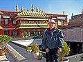 Tibet-5427B This guy follows me around the world. (2606584841).jpg