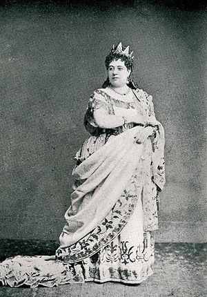 Lucrezia Borgia (opera) - Thérèse Tietjens as Lucrezia Borgia