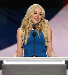 Tiffany Trump RNC July 2016 (wide) (cropped).jpg