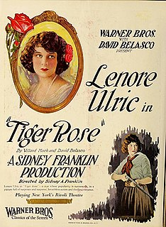 <i>Tiger Rose</i> (1923 film) 1923 film
