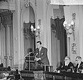 Tijdens zijn rede in de Tweede Kamer, Biesheuvel, Bestanddeelnr 914-7750.jpg