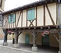 Tillac - Maisons à colombages de la rue principale - côté sud près de l'église -4.JPG