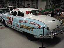 "NASCAR winner ""The Fabulous Hudson Hornet"""