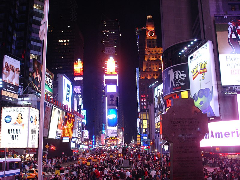 File:Times Square at night- Manhattan, New York City, United States of America (9867936733).jpg
