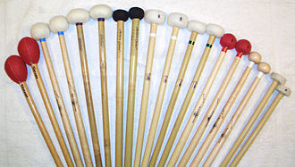 Timpani - Timpanists use a variety of timpani sticks since each produces a different timbre.