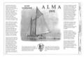 Title Sheet - Scow Schooner ALMA, Hyde Street Pier, San Francisco, San Francisco County, CA HAER CAL,38-SANFRA,198- (sheet 1 of 7).png