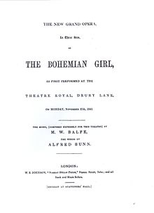 Title page of The Bohemian Girl.JPG