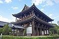 Tofukuji Temple, Sammon (main gate), May 2017.jpg