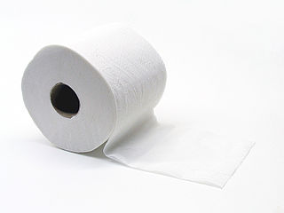 Toilet paper tissue paper for cleaning after urination or defecation