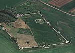 Tokod, Roman Castrum, aerial view from the south.jpg