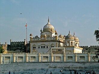 Sikh period in Lahore - The Samadhi of Emperor Ranjit Singh in Lahore, Pakistan.