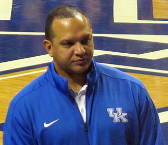 Tony Barbee - At Kentucky's 2015 Blue-White scrimmage