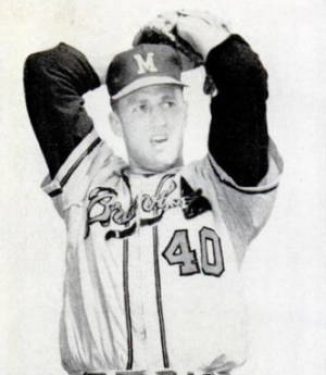 Tony Cloninger - Cloninger in 1962.