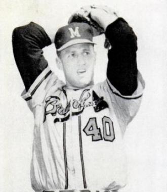 Tony Cloninger - Cloninger in 1962.