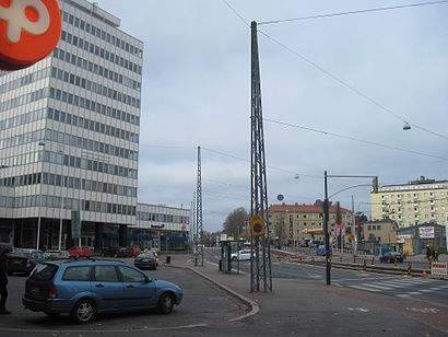 How to get to Töölön Tulli with public transit - About the place