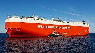 Wallenius Wilhelmsen Logistics - Image: Torrens, Fremantle, 2015 (08)