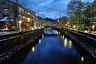 Kinosaki, Hyōgo - Kinosaki Onsen by night