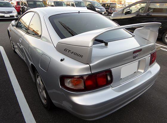 капот Toyota Селика st205 gt four #10