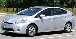 2010-2011 Toyota Prius photographed in Manassa...