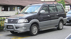 Toyota Unser (fifth generation, third facelift) (front), Kajang.jpg