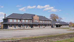 Stratford railway station (Ontario) - Historic 1913 GTR station