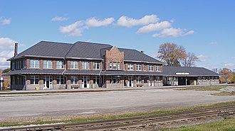Stratford station (Ontario) - Historic 1913 GTR station