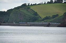 Trains on the sea wall south of Dawlish (4925).jpg