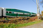 Trainspotting GO train -918 headed by MPI MP40PH-3C -609 (8123462270).jpg