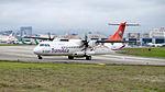 TransAsia Airways ATR 72-212A B-22817 Departing from Taipei Songshan Airport 20150321c.jpg