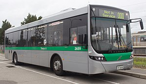 Volvo B7RLE - Volvo B7RLE with Volgren Optimus bodywork