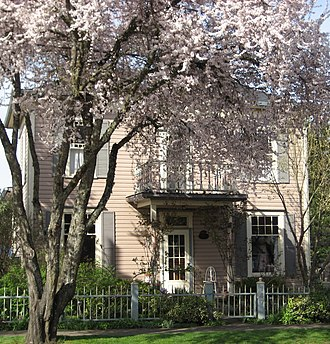 Sheridan, Oregon - Travelers Home on the National Register of Historic Places